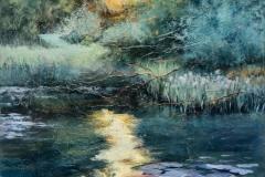 'Evening Light' by Lesley Fisher -  Spring 2018 Society Award winner