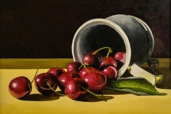 'Cherries and Tankard' by Roger Young -  Autumn 2015 Society Award winner