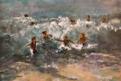 'Swimming in the Surf' by Maureen Preston - Autumn 2014 Guest Speaker's Award