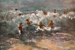 'Swimming in the Surf' by Maureen Preston - Autumn 2014 Guest Speaker's Award