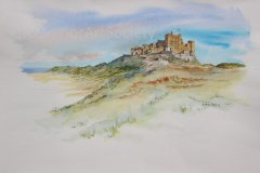 'Bamburgh Castle' by Andrew Dailey