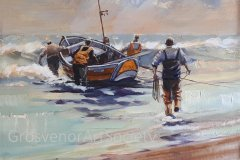 'Into the Tide (framed)' by Vincent Nevin