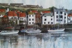 'Whitby Harbour' by Julia Duerden