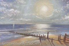 'Evening Light' by Karen Smeatham