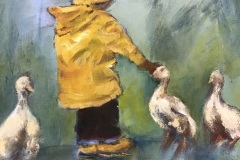 'Fine Weather for Geese' by Marjorie Scott