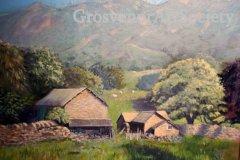 "'Lake District Farm' by Paula Salmons (18""x14"") Oil -  £190  - Contact phsalmons@icloud.com"