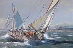 "3rd: ""J-Class-Vigilant 19262 by David-Wilson wins £15"
