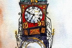 'Clock & Mootie' by Louise Diggle
