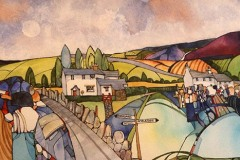 'Lakeland Cottages' by Kevin Sparrow