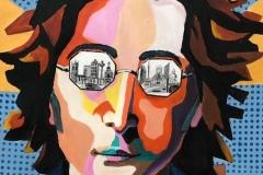 """'John' by Jean Millington - acrylic (16"""" x 12"""") £70 - contact: jean_millington@yahoo.co.uk"""
